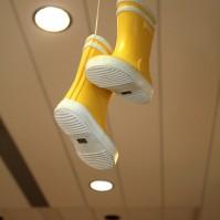 Les bottes jaunes
