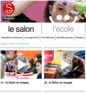Le site du salon de Montreuil