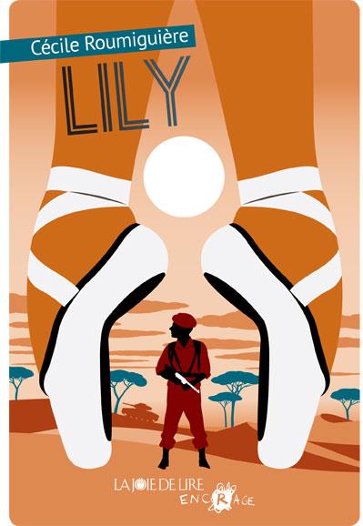 """""""Lily"""", couverture du roman signée Séverin Millet."""