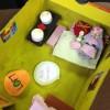 Au collège Darras-Riaumont, à Liévin, des boîtes décor pour le Fil de soie.