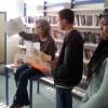 Au collège Jean Moulin, une classe de 4e et une de 5e.