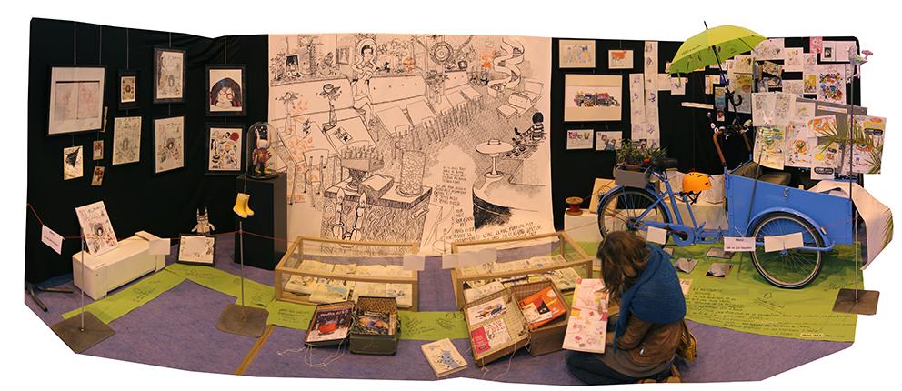 Exposition de Carole Chaix à Sucé-sur-Erdre 2015.