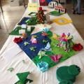 Les objets de mes romans réalisés par les élèves de 5e de Louise Michel.