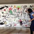 Carole Chaix, une fresque pour dire la censure.