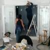 Préparation des murs.