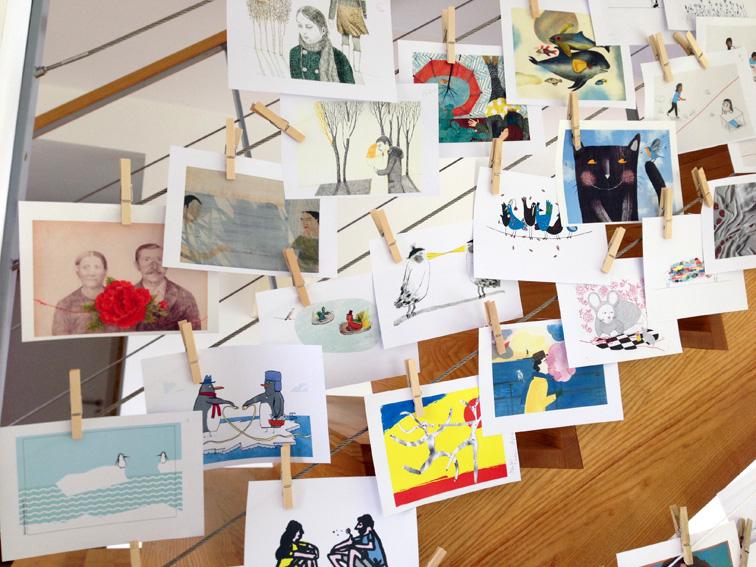 Un escalier d'images, été 2016