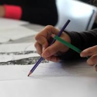 Atelier en duo, écriture et dessin