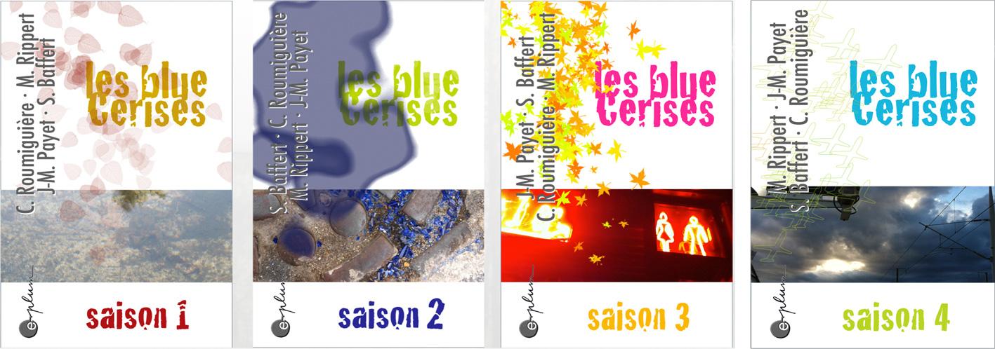 Couvertures des blue Cerises numériques.