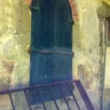 … une fenêtre encore, et un sommier abandonné.