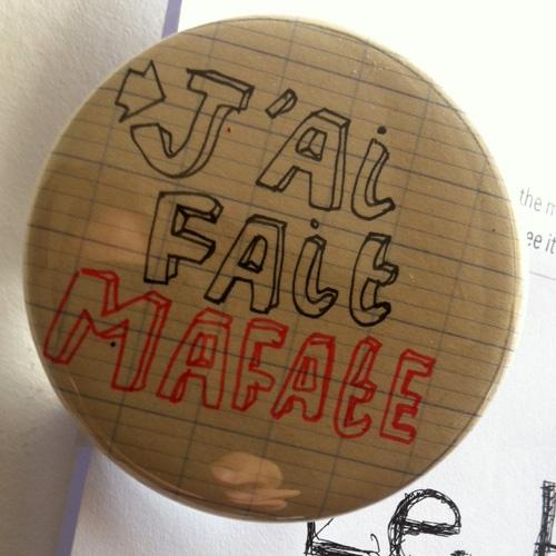 """Badge """"J'ai fait Mafate"""" © Carole Chaix"""
