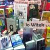 Nos livres sur le stand de la librairie Gérard.