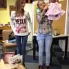 Et la présentation de la poupée et de sa robe à secrets (collège Darras-Riaumont).