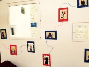 Le fil de soie, dessins d'enfants de Genève