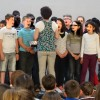 En Normandie, les enfants ont choisi… le Fil de soie, ils chantent Ederlezi.