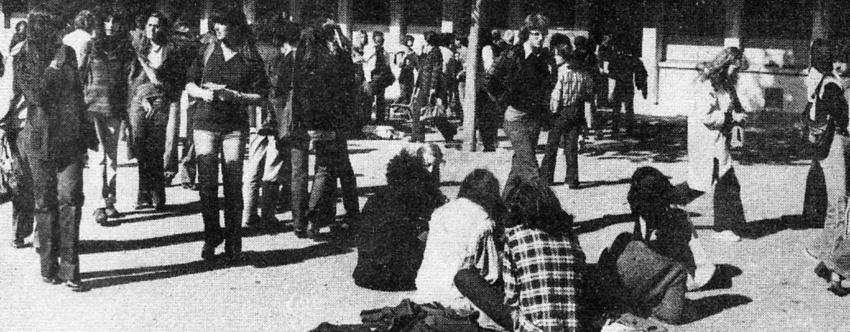 Au lycée, autour de 1978