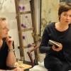 Ingrid parle du livre de Thierry.
