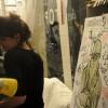 Carole trace le portrait de Thierry.