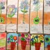 Les bulbes du Ventre de la Terre par des enfants de maternelle
