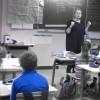 Louviers, en classe.