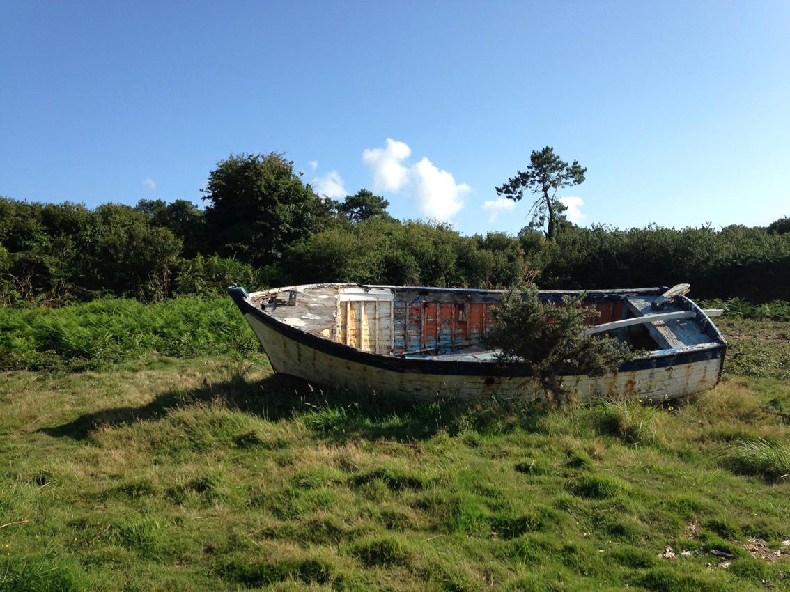 Le vieux bateau